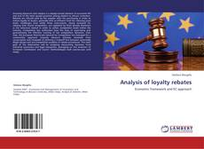 Bookcover of Analysis of loyalty rebates