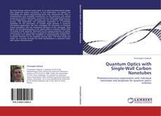 Capa do livro de Quantum Optics with Single-Wall Carbon Nanotubes
