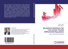 Bookcover of Analytical Solutions for non-Linear Partial Differential Equations