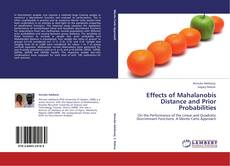 Couverture de Effects of Mahalanobis Distance and Prior Probabilities
