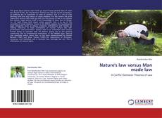 Portada del libro de Nature's law versus Man made law