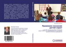 Обложка Правовое сознание детей-сирот