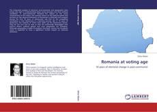 Couverture de Romania at voting age