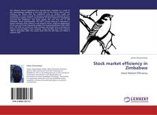 Buchcover von Stock market efficiency in Zimbabwe