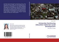 University Continuing Education Units For Local Development kitap kapağı