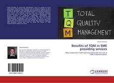 Bookcover of Benefits of TQM in SME providing services