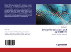Bookcover of Differential equations and applications