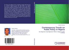 Bookcover of Contemporary Trends on Public Policy in Nigeria