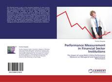 Borítókép a  Performance Measurement in Financial Sector Institutions - hoz