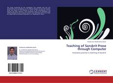 Copertina di Teaching of Sanskrit Prose through Computer