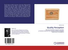 Bookcover of Quality Perception