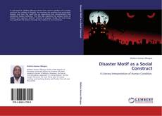 Bookcover of Disaster Motif as a Social Construct