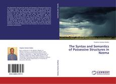 Bookcover of The Syntax and Semantics of Possessive Structures in Nzema