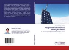 Bookcover of Adaptive Photovoltaic Configurations