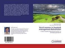 Buchcover von Rural women in livestock management Baluchistan