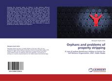 Couverture de Orphans and problems of property stripping