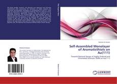 Portada del libro de Self-Assembled Monolayer of Aromaticthiols on Au(111)