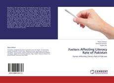 Factors Affecting Literacy Rate of Pakistan kitap kapağı