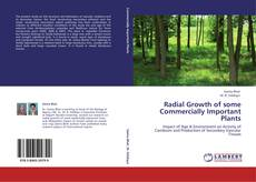Bookcover of Radial Growth of some Commercially Important Plants