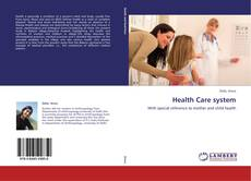 Bookcover of Health Care system