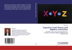Couverture de Cognitive Load Theory and Algebra Instruction