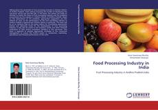 Capa do livro de Food Processing Industry in India