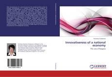 Couverture de Innovativeness of a national economy