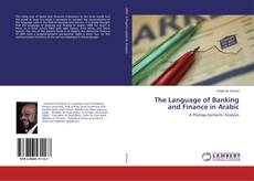 Buchcover von The Language of Banking and Finance in Arabic