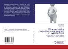 Portada del libro de Efficacy of marine macroalgae in management of hyperlipidemia