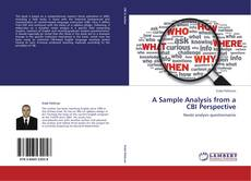 Couverture de A Sample Analysis from a CBI Perspective