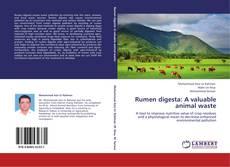 Copertina di Rumen digesta: A valuable animal waste