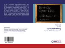 Capa do livro de Operator theory