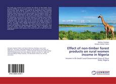 Обложка Effect of non-timber forest products on rural women income in Nigeria