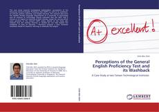 Capa do livro de Perceptions of the General English Proficiency Test and its Washback