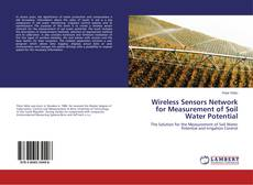 Couverture de Wireless Sensors Network for Measurement of Soil Water Potential