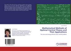 Capa do livro de Mathematical Methods of Optimal Control Theory and Their Applications