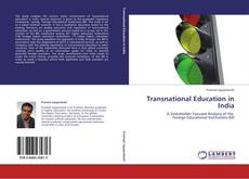 Buchcover von Transnational Education in India