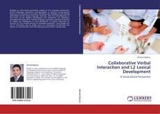 Capa do livro de Collaborative Verbal Interaction and L2 Lexical Development