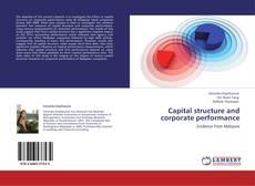Capital structure and corporate performance kitap kapağı
