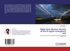 Couverture de Night time electron density of the D-region ionosphere and