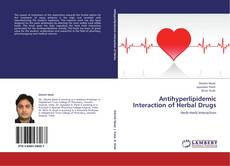 Bookcover of Antihyperlipidemic Interaction of Herbal Drugs