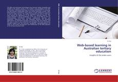 Buchcover von Web-based learning in Australian tertiary education