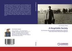 Обложка A Hospitable Society