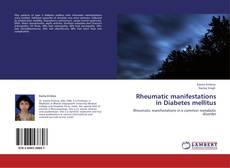 Capa do livro de Rheumatic manifestations in Diabetes mellitus