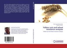 Capa do livro de Yellow rust and wheat resistance analyses