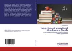 Couverture de Interactive and Interactional Metadiscourse Signals