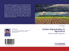 Buchcover von Carbon Sequestration in Agriculture