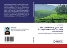Bookcover of Salt tolerance of guar and its improvement by 'in vitro' mutagenesis