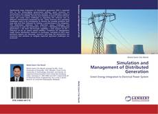 Bookcover of Simulation and Management of Distributed Generation
