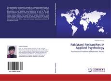 Pakistani Researches in Applied Psychology kitap kapağı